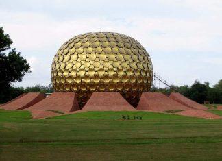 Matrimandir at Aurovile