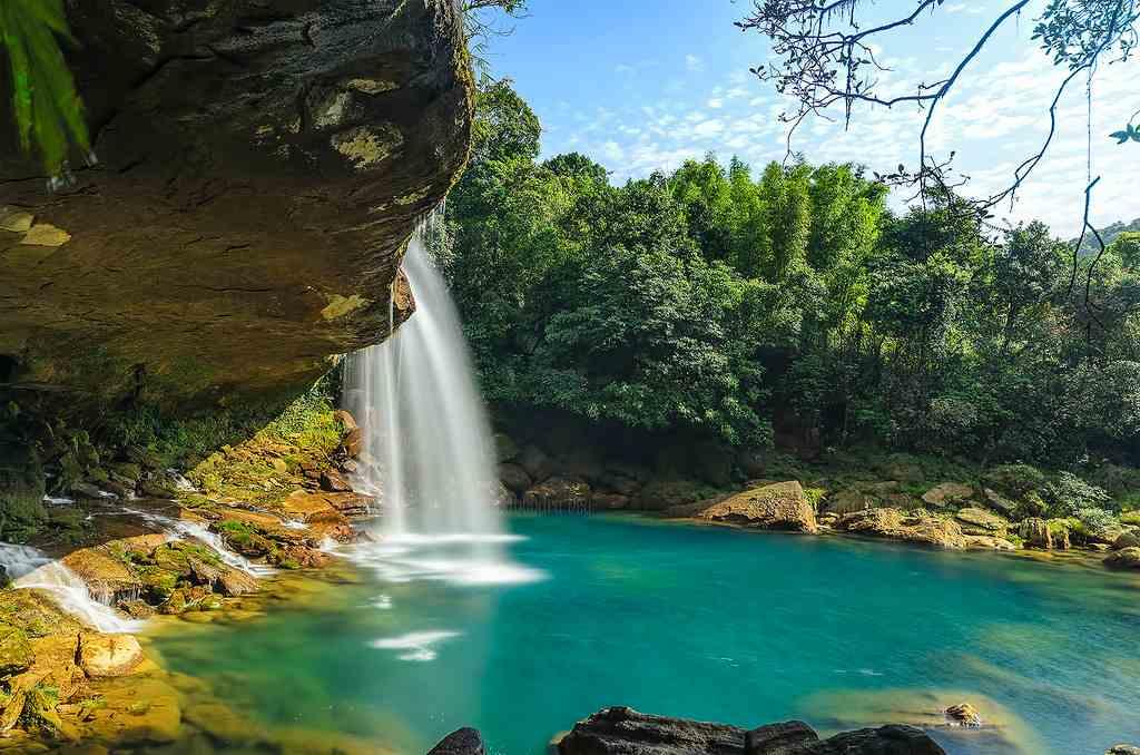 Krang Suri Fall near Jowai