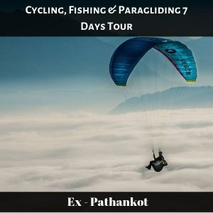 Cycling, Fishing & Paragliding