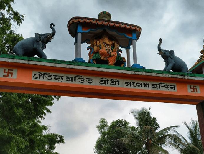 The Lalmati- Duramari Ganesh Temple