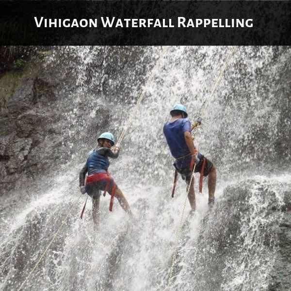Vihigaon Waterfall Rappelling