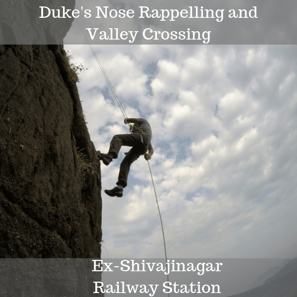 Duke's Nose Rappelling and Valley Crossing