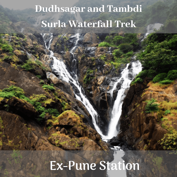 Dudhsagar and Tambdi Surla Waterfall Trek