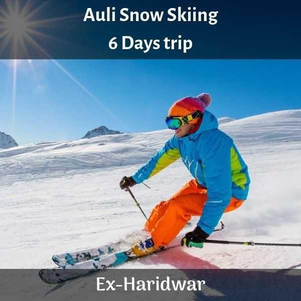 Auli Skiing Trek