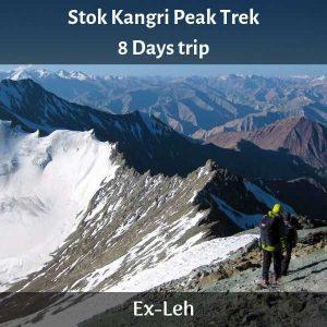 Stok Kangri Peak Trek