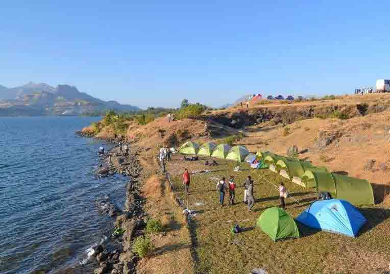 Lakeside Camping at Bhandardara