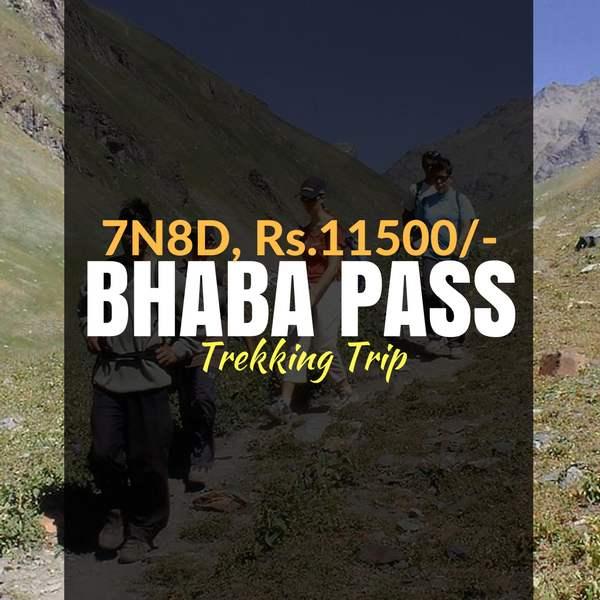 Trek_Bhaba Pass_Weekendthrill