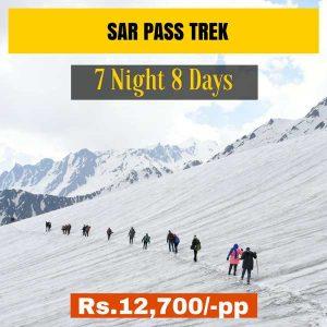 Sar Pass Trek from Delhi