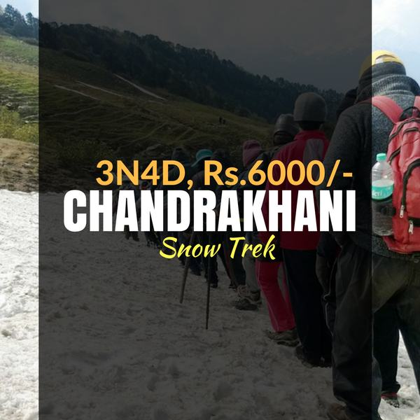 Snow trek_Chandrakhani_Weekendthrill