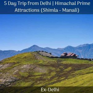 package for shimla manali