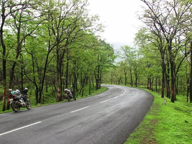 Bike ride at tamini ghats