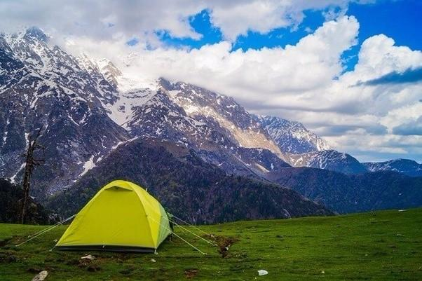 Triund Trek from Mcleodganj & Camping