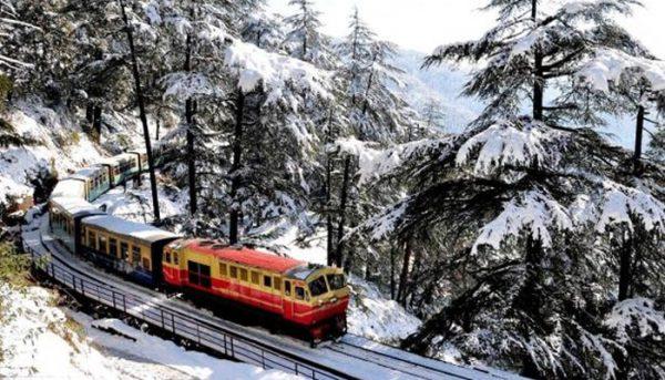 Train at Shimla