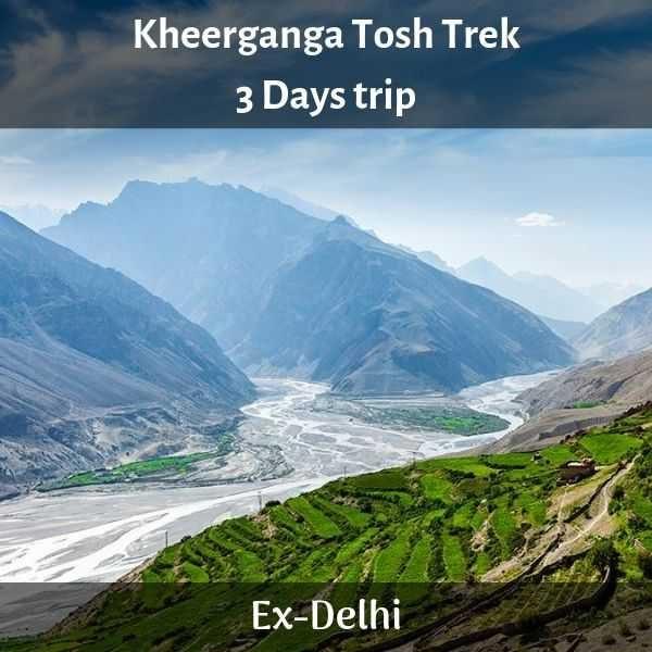 Kheerganga Tosh trip