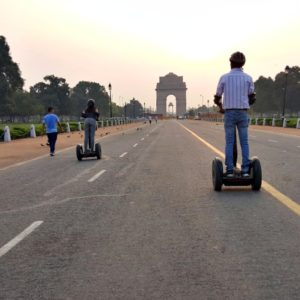Segway tour in Delhi