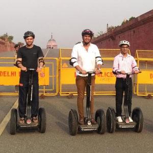 Segway tours in Delhi