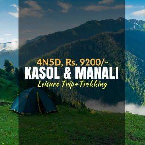 Trekking, Leisure trip_Kasol_Weekendthrill