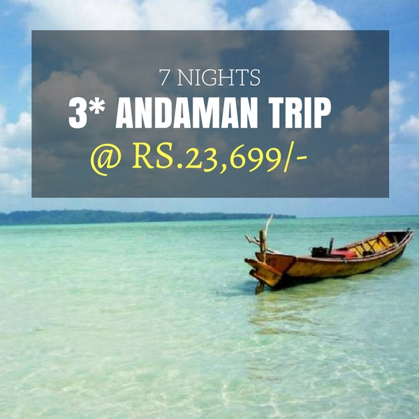 Havelock Island: 7 Nights Andaman Tour Package (Portblair, Havelock, Neil