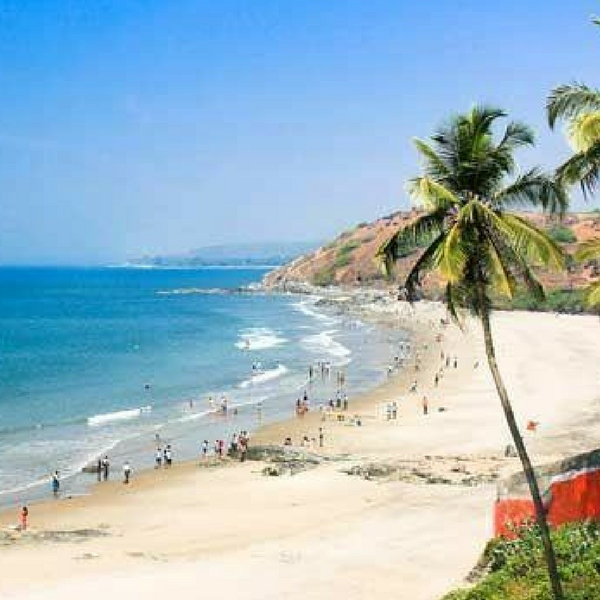 Places To Visit In Goa Indiamike: Anjuna Beach Goa Package- Whispering Woods Resort