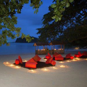 Romantic evening at Andaman
