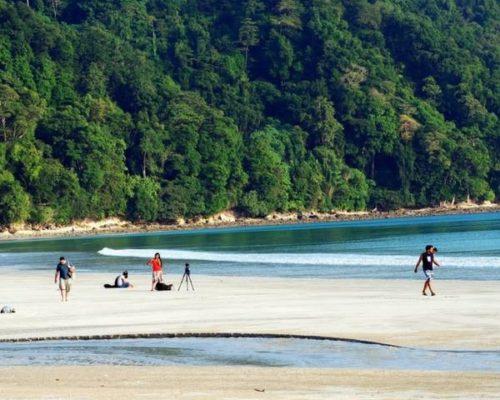 beach in Andaman and Nicobar island
