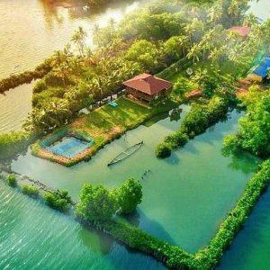 island in kerala