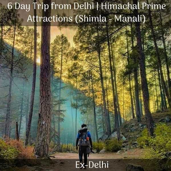 Tour package of shimla manali