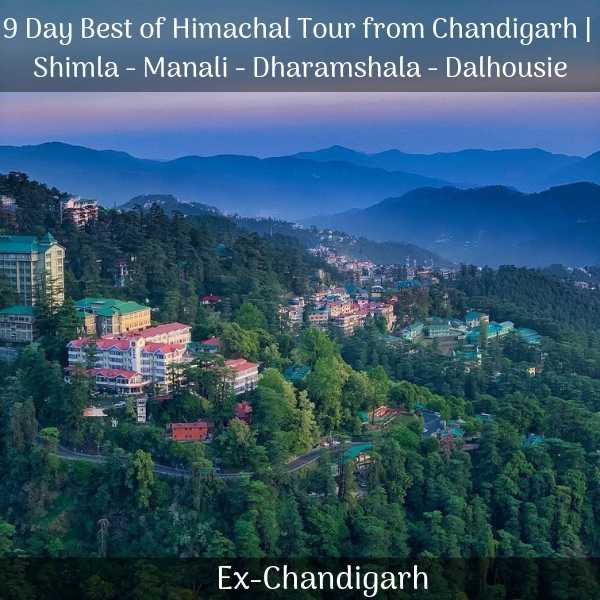 Shimla tour package from Chandigarh