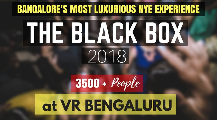 Amazing New Year party at VR Bangalore