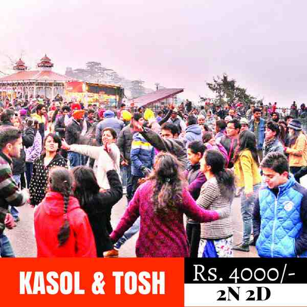 Kasol and Tosh new year party