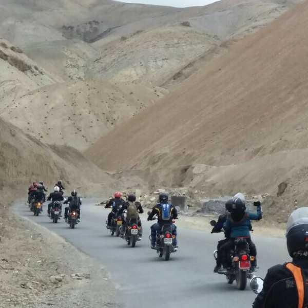 Leh Ladakh Bike trip from Srinagar