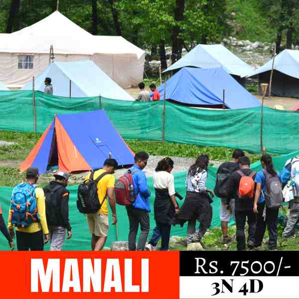 New year eve in Manali