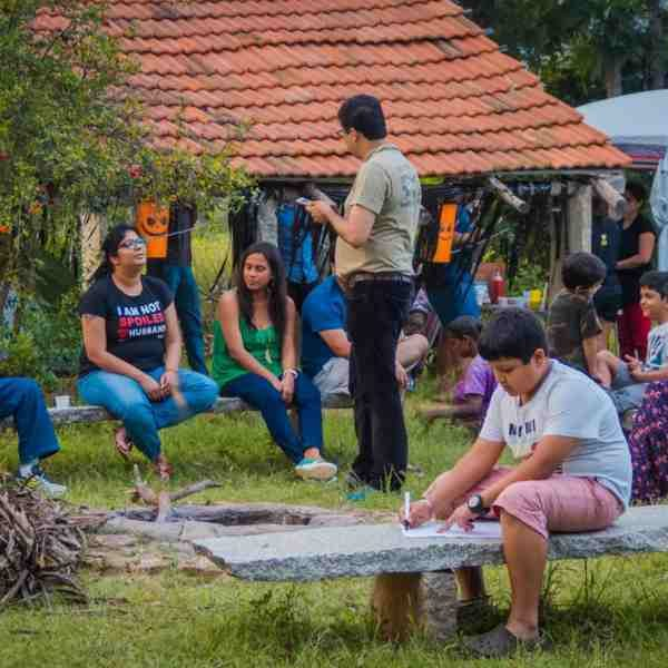 New year camping new Bangalore
