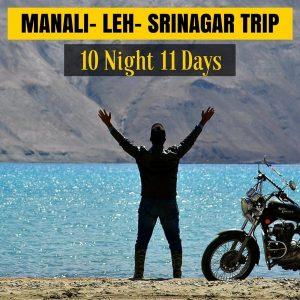 Bike Road Trip Package for Manali Leh Ladakh Srinagar