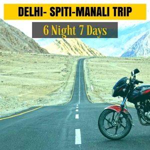 Delhi Spiti Manali Bike Trip
