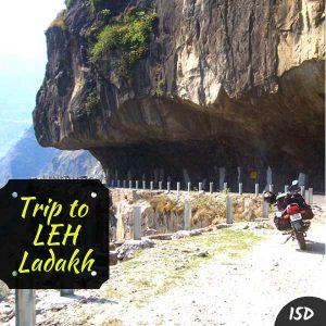 leh bike trip