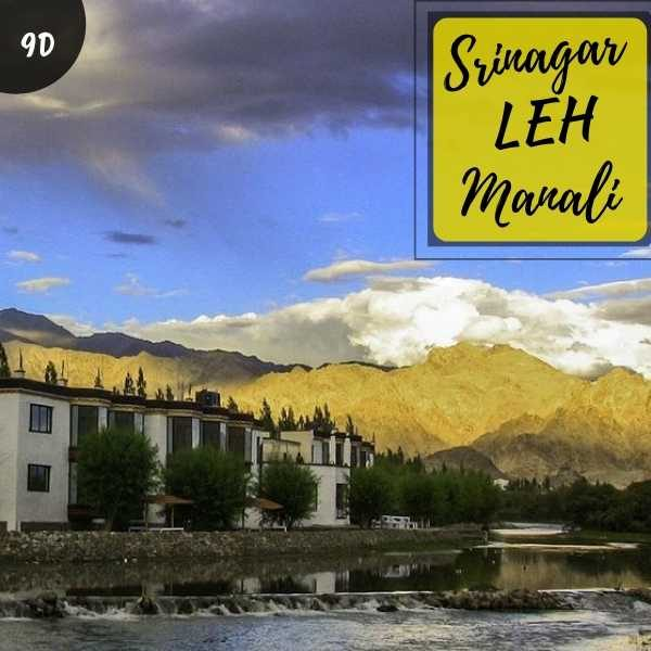 Srinagar Leh Manali