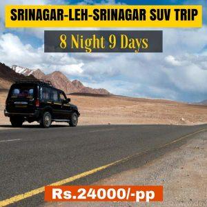Srinagar Leh Srinagar SUV Trip