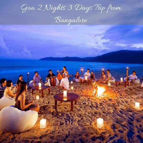 goa package from bangalore