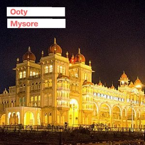 Mysore Ooty Trip from Bangalore