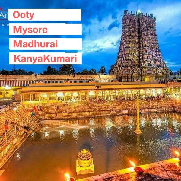 mysore ooty package from bangalore