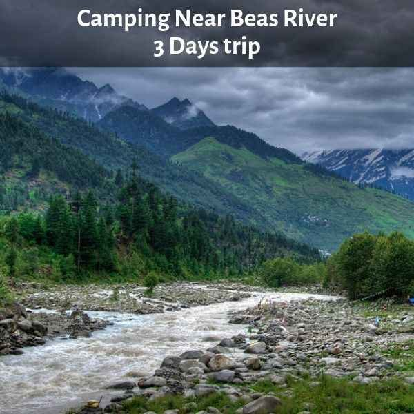 Camping Near Beas River