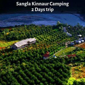 Camping In Sangla, Kinnaur