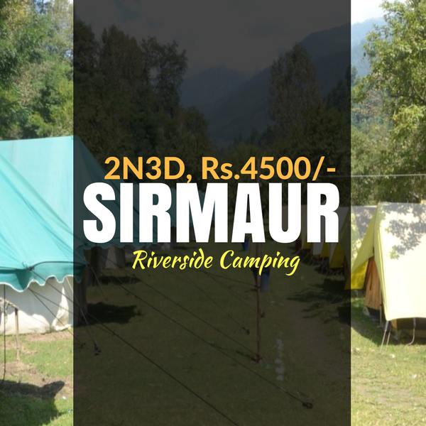 Riverside camping_Giri ganga_Weekendthrill