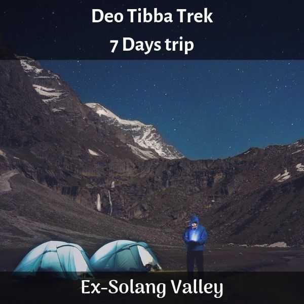 Deo Tibba trek
