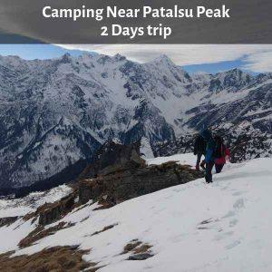 Camping Near Patalsu Peak