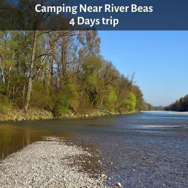 Camping Near River Beas