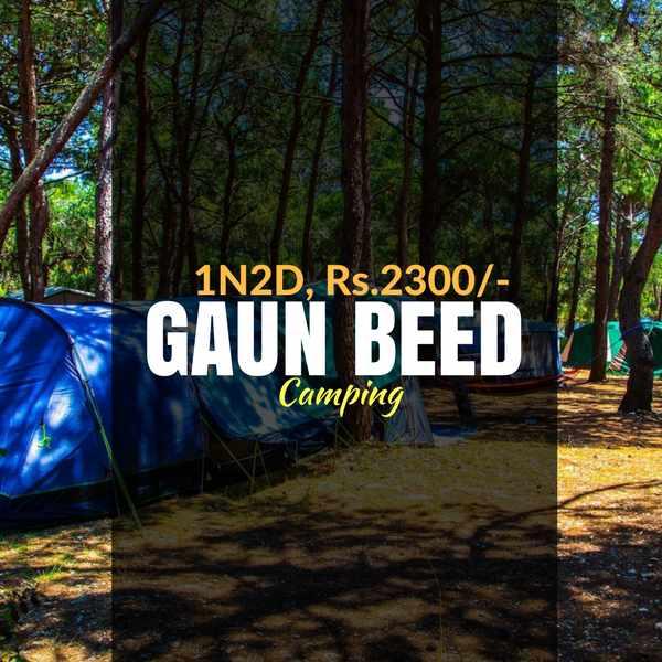 Camping_Gaun Beed Plateau_Weekendthrill