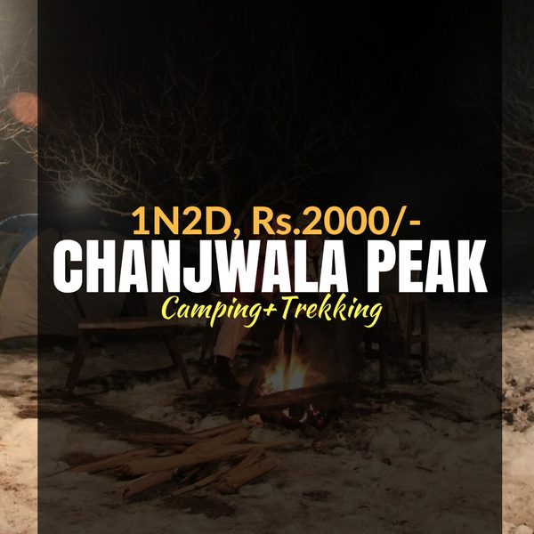 Camping_Chanjwala Peak_Weekendthrill