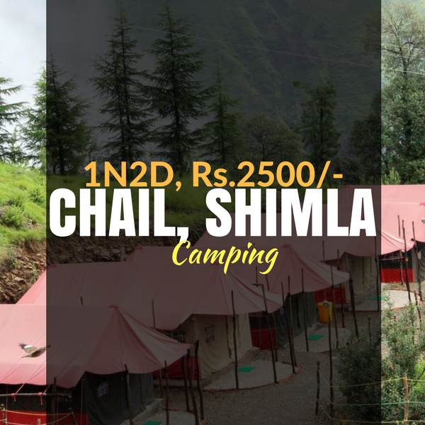 Weekend camping_Chail_Weekendthrill